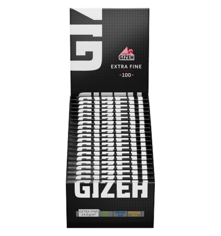 GIZEH Black DW Extra Fine