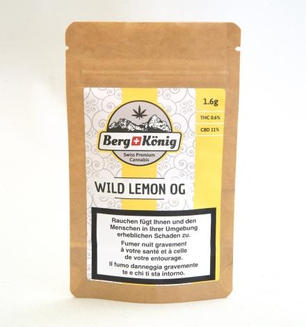 CBD Blüten, Wild Lemon OG, CBD kaufen Schweiz, Berg König